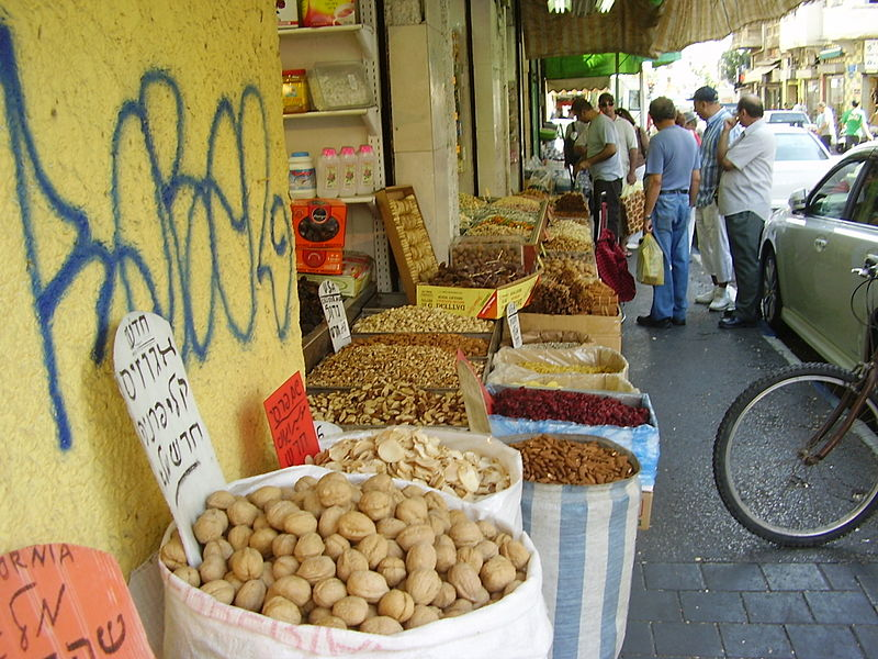 Markets in Tel Aviv